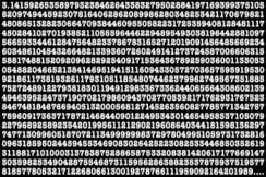 math-pi-decimal-matrix